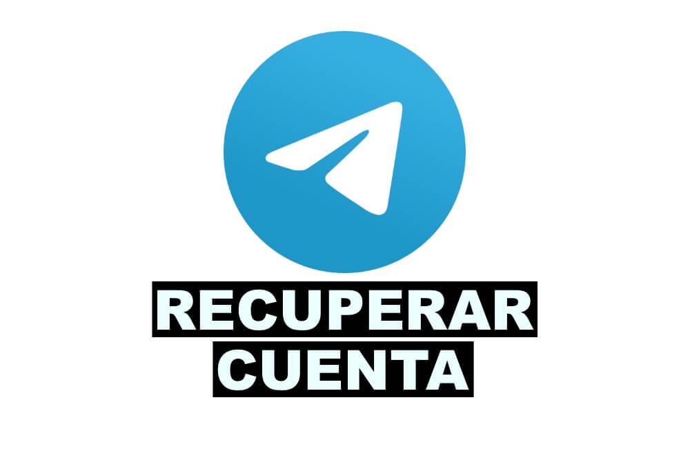 Como recuperar cuenta de Telegram