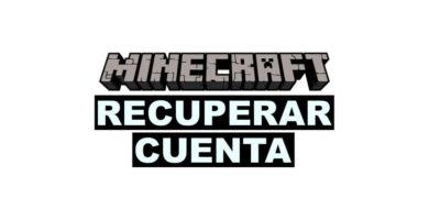 Como recuperar cuenta de minecraft