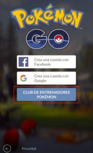 Recuperar contraseña de Pokemon Go paso 2