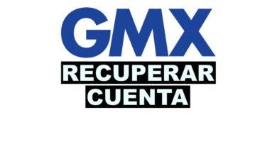 Como recuperar cuenta de GMX