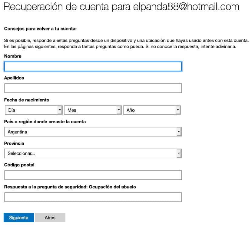Verficación adicional aun con password paso 5