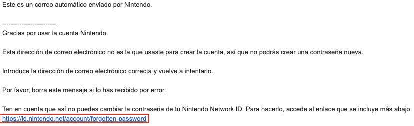 Recuperar cuenta de Nintendo si no recordamos el mail parte 1