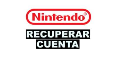 como recuperar una cuenta de Nintendo