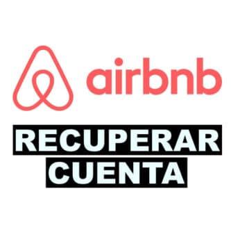 como recuperar una cuenta de Airbnb