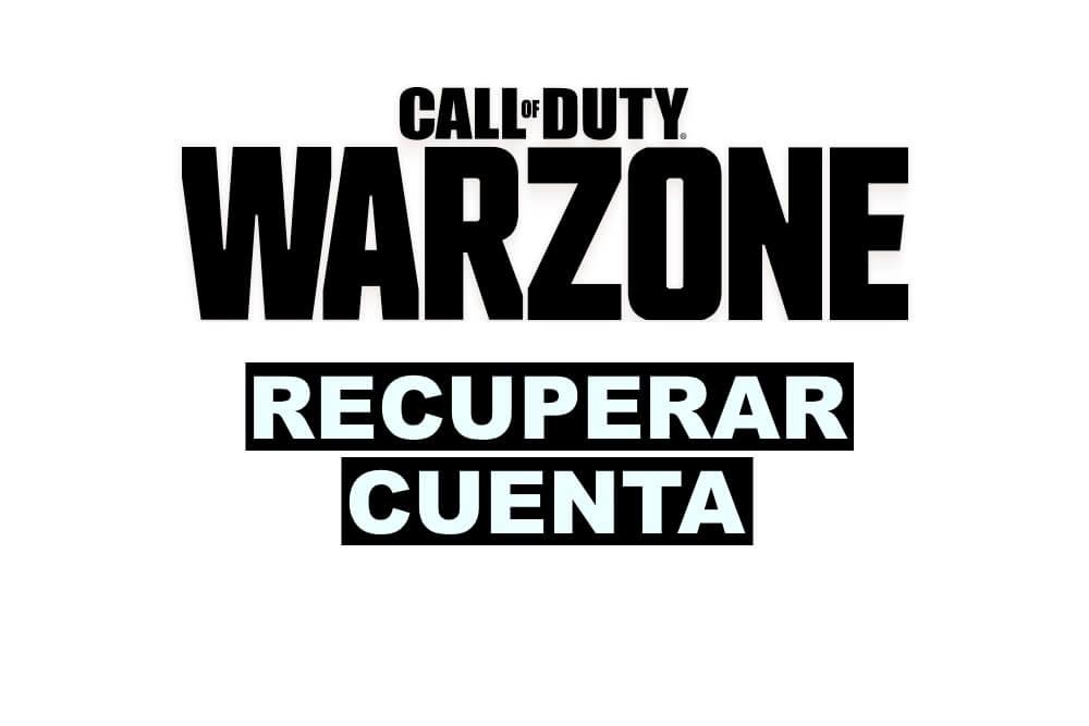 como recuperar una cuenta de Call of Duty Warzone