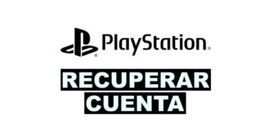 como recuperar una cuenta de Playstation